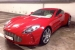 Red Aston Martin One-77 Spotted in Geneva