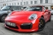 Tomato Red Porsche 991 Turbo S Looks Delicious!