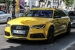 Yellow Audi RS6 Avant Spotted in Germany