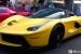 Spotlight: Yellow LaFerrari with Blue Carbon