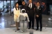 Honda ASIMO Robot Plays Soccer with President Obama