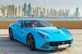 Gallery: Baby Blue Ferrari F12 in Dubai