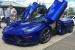 Blue LaFerrari Shows Up at High School Car Show