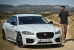Nicholas Hoult Does the 'Smart Cone' Challenge in a Jaguar XF
