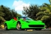 Metro Wrapz Lime Green Ferrari 458 Looks Yummy!