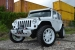 Matte White Jeep Wrangler Rubicon by MC Customs