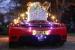Rich Santa Has a Ferrari Enzo Sleigh!