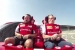 Raikkonen and Alonso Ride the Roller Coaster at Ferrari World Abu Dhabi