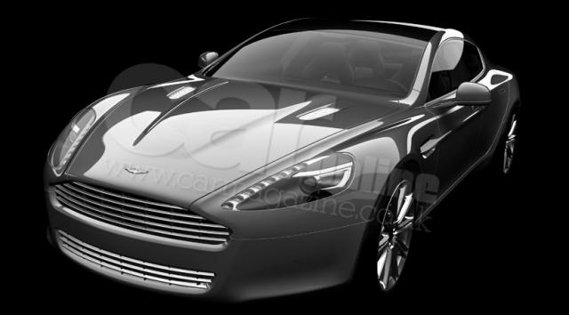 1rapidefront34 at 2009 Aston Martin Rapide   Official Image
