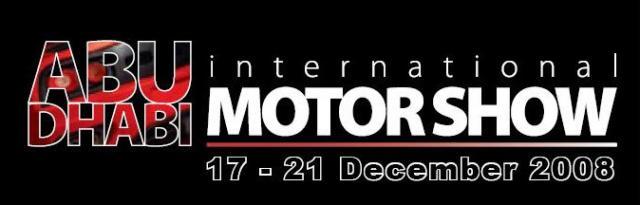 abudhabi motorshow at A note on Abu Dhabi International Motorshow