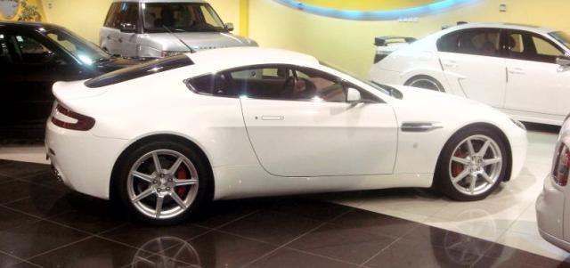 aston martin v8 vantage at Aston Martin upgrades V8 Vantage