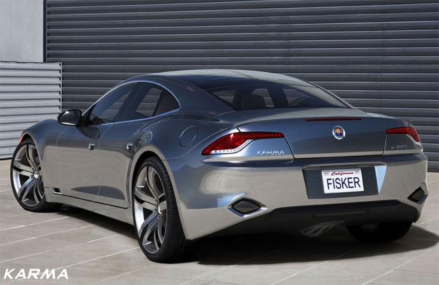 Fisker Karma First Picture And Full Details Released