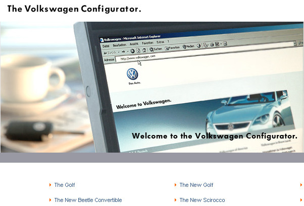 Vw Middle East Launches Configurator Website