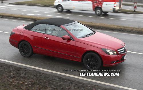 Spyshots 2009 clk coupe. 2010