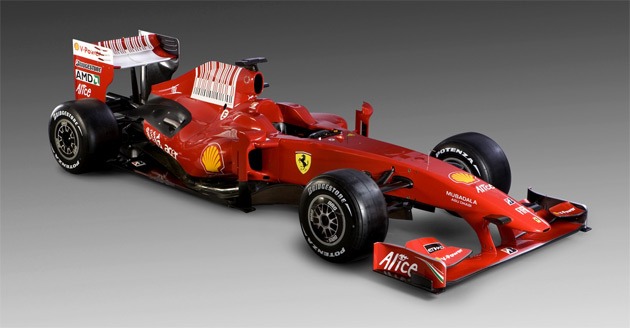 formula 1 racing car. car for 2009 Formula1