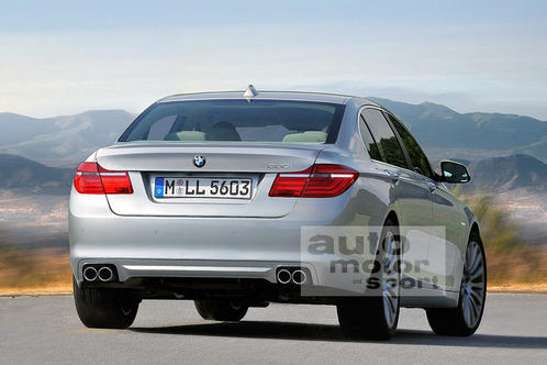 Next generation BMW 5 Series details and renderings 2010 bmw 5 series