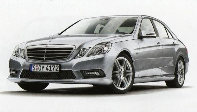 2010 mercedes e class sedan brochure scans leaked 6 at 2010 Mercedes E Class new details and pictures