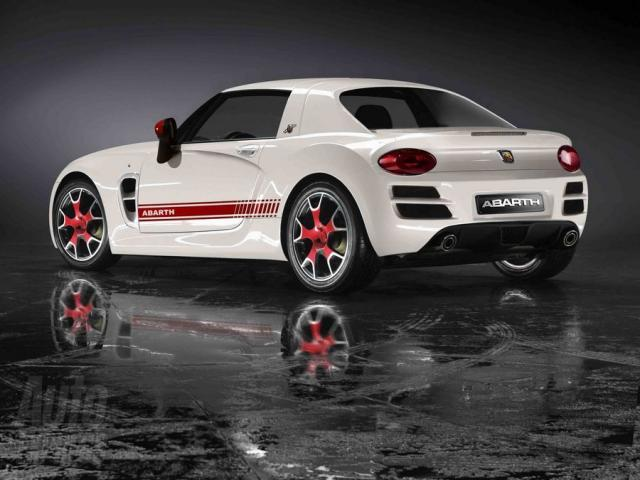 Abarth Coupe Based On Fiat 500