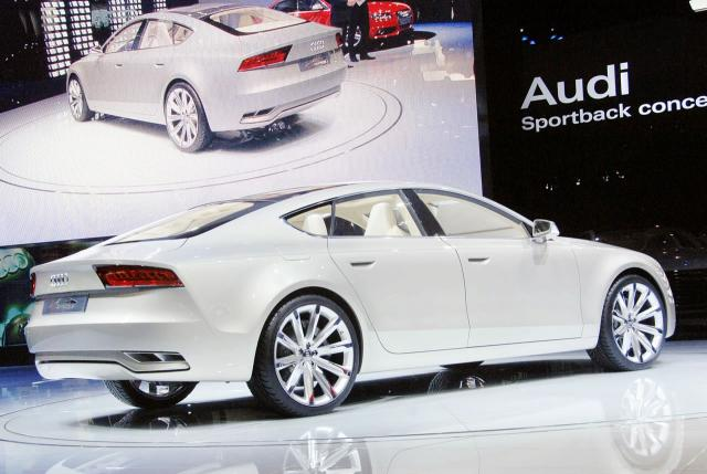 2009 Audi Sportback Concept. Worst than that, this concept