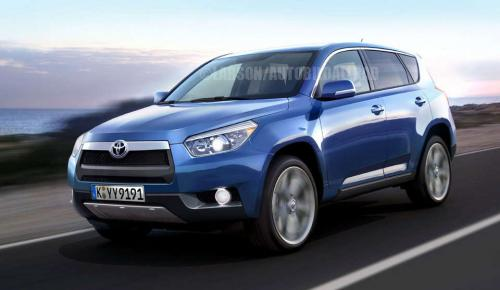 Toyota Rav4 2012 Redesign. Next Toyota RAV4 Renderings