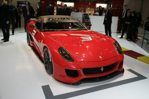 Ferrari 599 Gtb Fiorano Hgte. Ferrari 599XX track car 2009