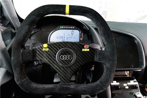 More on Audi R8 GT3 audi gt3 r8 customer race interior