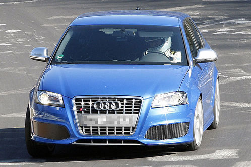 Spyshots: Audi RS3 first pictures audi rs3 1