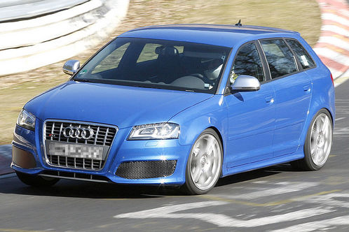 Spyshots: Audi RS3 first pictures audi rs3 2