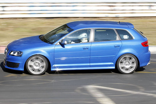 Spyshots: Audi RS3 first pictures audi rs3 3
