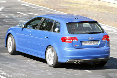 Spyshots: Audi RS3 first pictures audi rs3 4