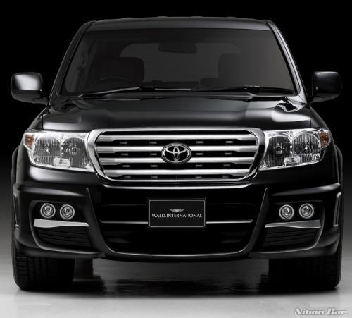 Toyota Land Cruiser Black Bison by Wald