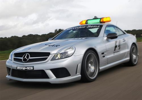 2000 Mercedes Benz Cl55 Amg F1 Safety Car. Mercedes SL63 AMG 2009 F1