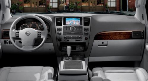 2009 Nissan Armada Interior. 2010 Nissan Armada details and