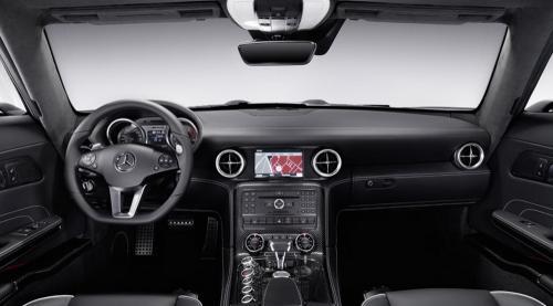 Mercedes SLS AMG Gullwing sketches + interior 2011 mercedes benz sls amg 9