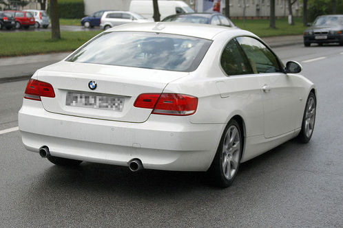 bmw 3 series coupe 2009. Spyshots: BMW 3 Series Coupe