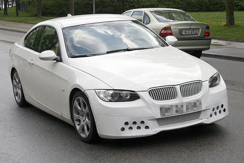 Spyshots: BMW 3 Series Coupe facelift 3 series facelift 3