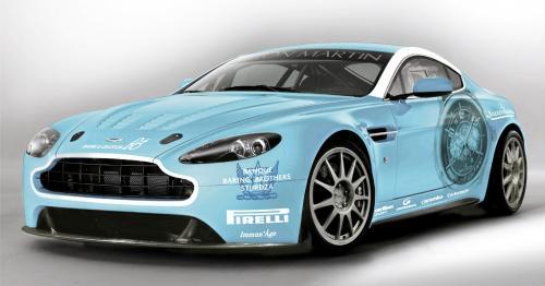 Aston Martin Vantage V12. Aston Martin V12 Vantage comes