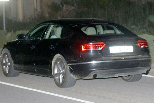 Audi A5 Sportback 2009. 2010 Audi A5 Sportback spied