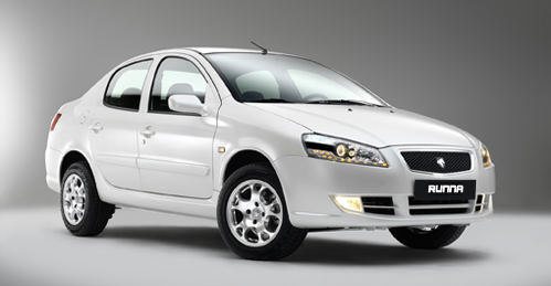 Iran Khodro Runna Sedan Unveiled