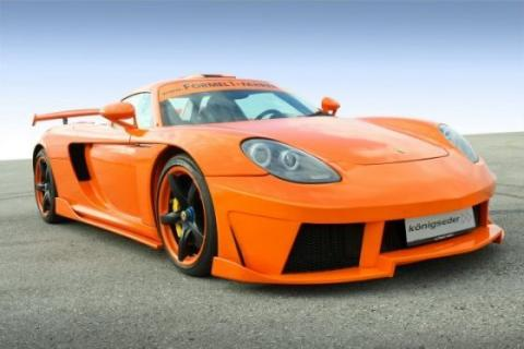 2009 Konigseder Porsche Carrera GT Wallpaper