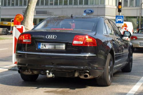 Spyshots: New Audi A8 scooped inside and out 2010 audi a8 spy 10