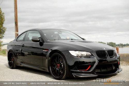 bmw m3 darth maul 1 at Darth Maul   Coolest BMW M3 yet!