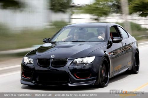 bmw m3 darth maul 3 at Darth Maul   Coolest BMW M3 yet!