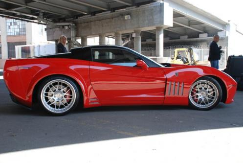 at Karvajal Designs Chevrolet Corvette ZX 1
