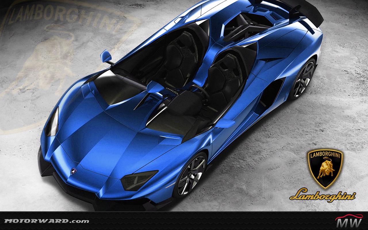 Lamborghini aventador j gold
