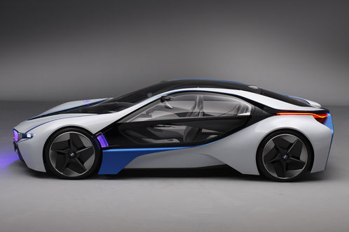 Bmw Vision Efficient Dynamics Concept Revealed