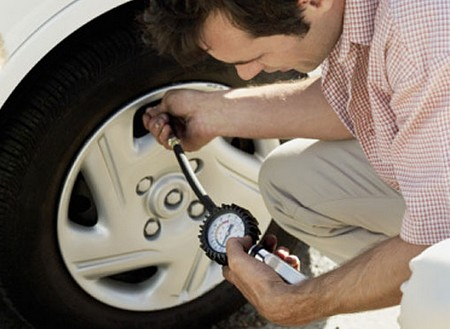 Check Tire Pressure at How to Check Your Tire Pressure