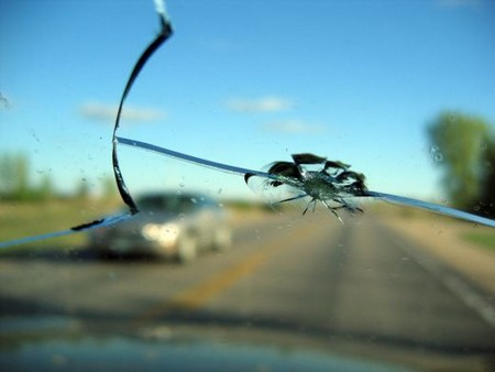 Chipped Windshield at How to Fix a Chipped Windshield