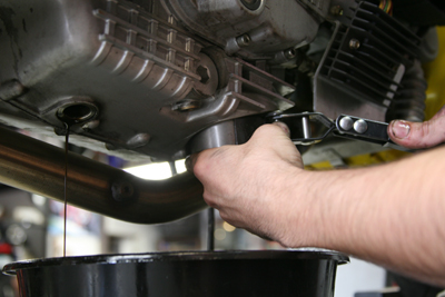 Remove Oil Filter at How to Replace an Oil Filter