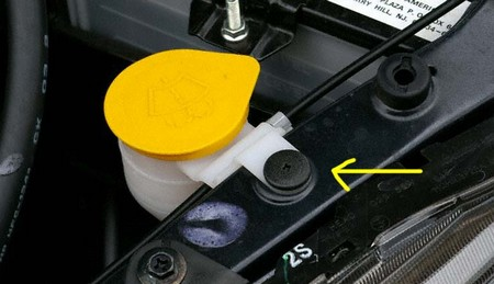 Winshield Washer Fluid Filler at How to Check Your Windshield Washer Fluid Level